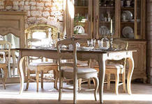 Country dining room furniture sets