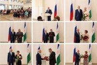 Рөстәм Хәмитов РФ һәм БР дәүләт наградаларын тапшырҙы