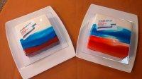 Журналистар Ольга Носкованың торттарын ашап кинәнде