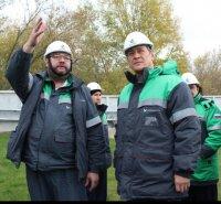 Башҡортостанда Радий Хәбиров тәүге эш сәфәре менән «Башнефть» компанияһында булды
