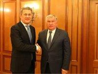 Радий Хабиров встретился с Игорем Сечиным