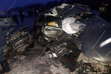 Башҡортостанда ҡурҡыныс юл аварияһы булды, 6 кеше үлгән